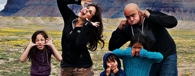 Carlos Whittaker e família