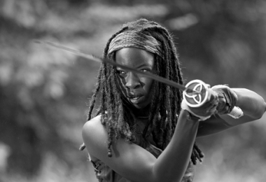 Michonne - O exemplo da sensibilidade feminina
