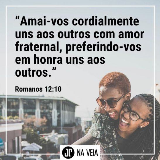 Versículos de amor - Romanos 12:10