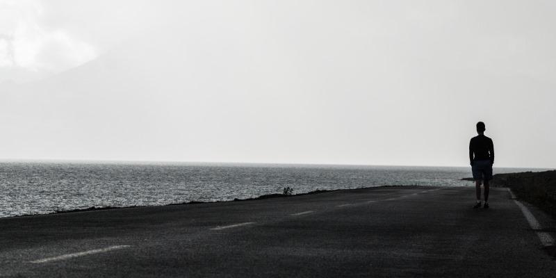 Sozinho na estrada