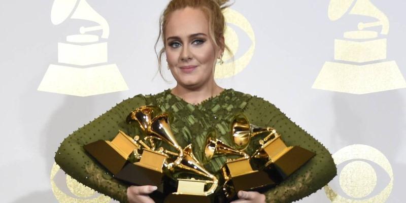 Adele Grammy 2017