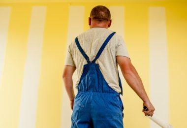 Trabalhador pintor