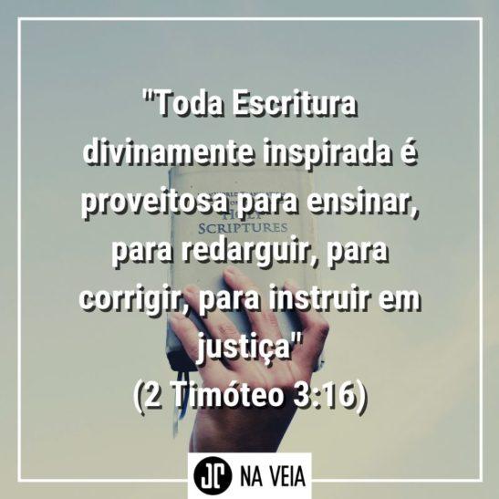 Versículos sobre Justiça - 2 Timóteo 3:!6