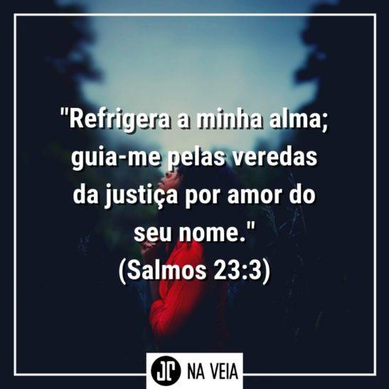 Versículos sobre Justiça - Salmos 23:3