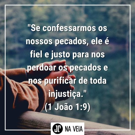 Versículos sobre perdão - 1 João 1:9