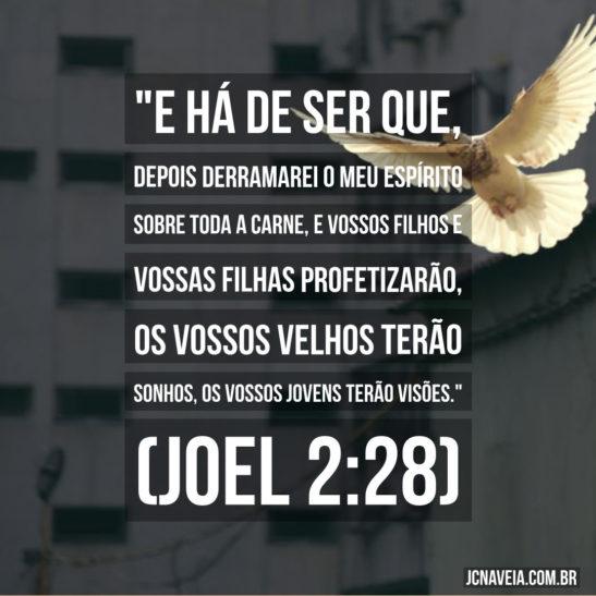 Versículos sobre sonhos - Joel 2:28