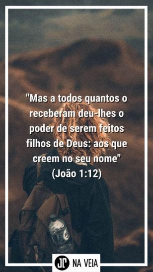 Versículos sobre salvação - João 1:12