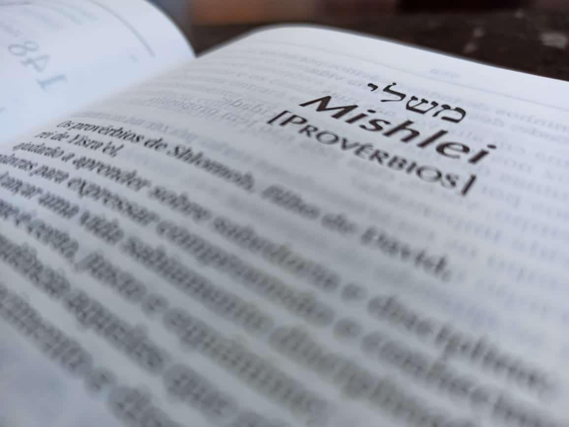 Curso do livro de Provérbios